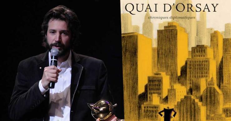 Antonin Baudry et sa BD Quai d'Orsay