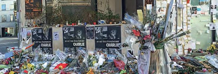 Souvenir à Charlie Hebdo