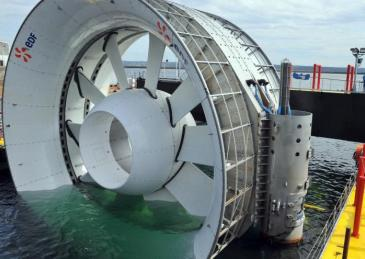 Hydrolienne DCNS