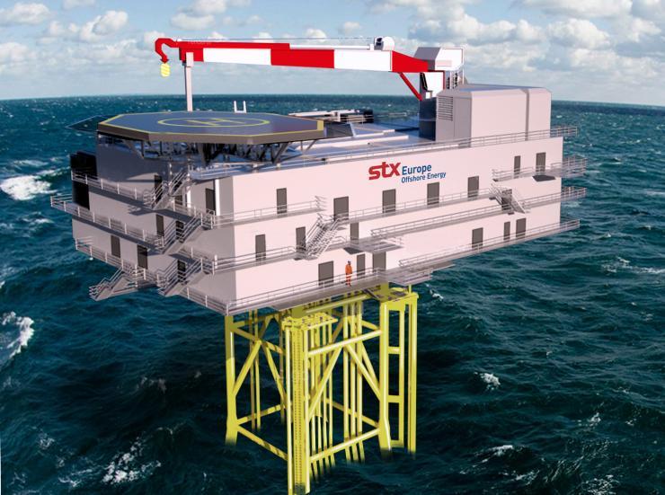 Plateforme électrique offshore de STX France