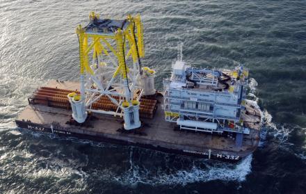Station électrique sous-marine