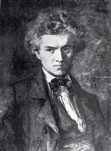 Portrait de Camille Jordan en 1855,
