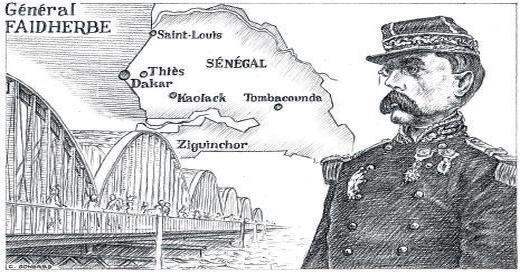 Général FAIDHERBE au Sénégal