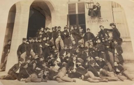 La 2e division de la promotion 1865 de l'Ecole polytechnique