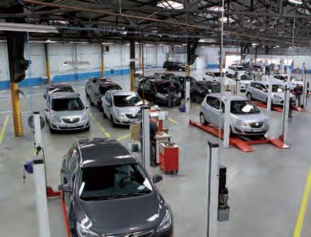 Préparation véhicules en atelier par STVA