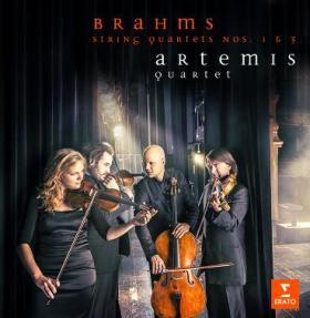 CD Quatuor de Brahms par Artémis