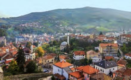 Travnik, en Bosnie
