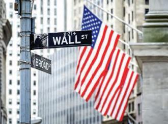 Wall Street : La croissance des services financiers plafonne à 3 % par an.