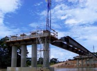 Le Pont du Lom au cameroun