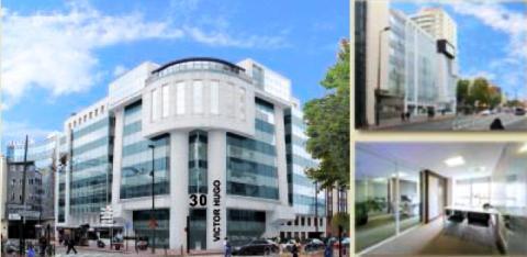 Immeuble multi locataires à Levallois (92) du Groupe PAREF
