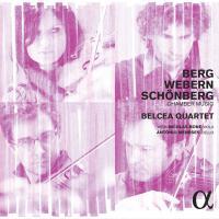 CD Berg, Webern, Schönberg par le quatuor Belcea