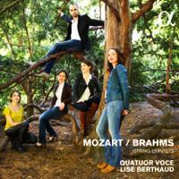 CD Mozart et Brahms par le quatuor VOCE
