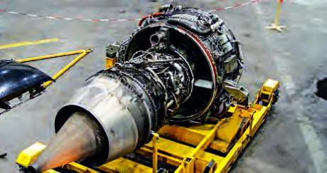Réacteur CFM 56, symbole d'une coopération franco-américaine durable.