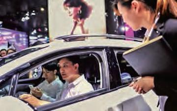 Ambassadrice de charme pour la gamme DS6 de Citroën en Chine