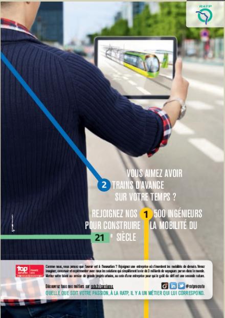 QUELLE QUE SOIT VOTRE PASSION, À LA RATP, IL Y A UN MÉTIER QUI LUI CORRESPOND