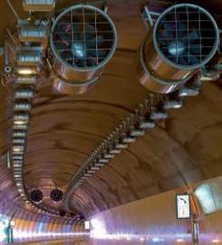 Extracteurs de fumée en tunnel financé par l'AFITF