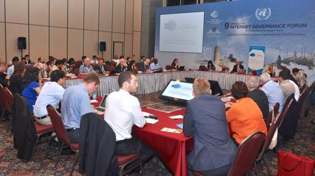 Forum sur la gouvernance Internet (IGF) à Istanbul, 2014.