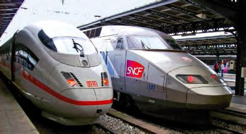 TGV et ICE
