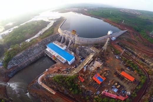 Barrage de KALETA en Guinée