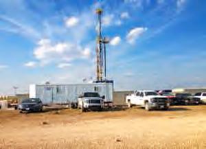 Cimenter un puits de pétrole