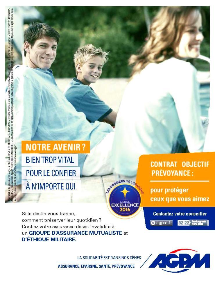 Publicité AGPM