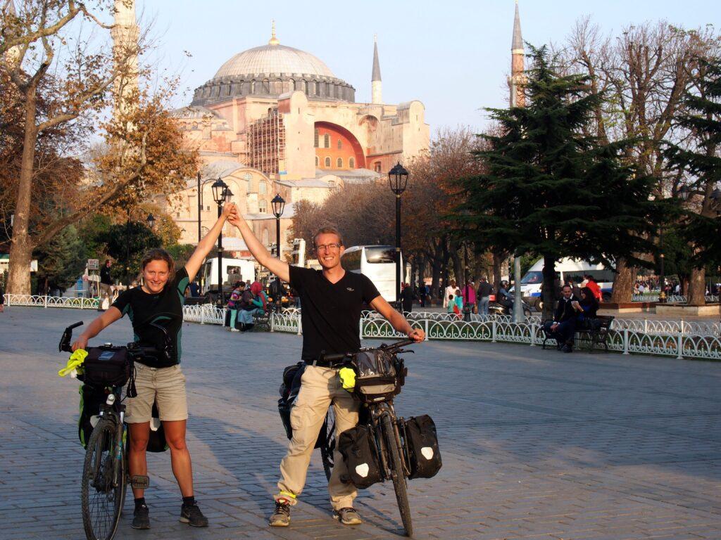 Arrivée à Istambul après 4000 km