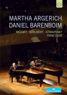 CD piano duos avec martha argerich et Daniel Barenboim