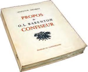Le livre : Propos de OL Barenton confiseur de Aguste Detoeuf
