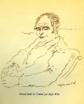 Portrait d'Auguste Detœuf par Roger Wild.