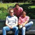 les 3 cofondateurs de Wingly.