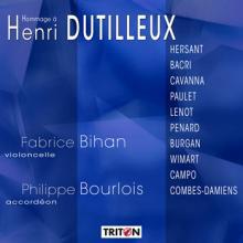 CD Hommage à Henri Dutilleux