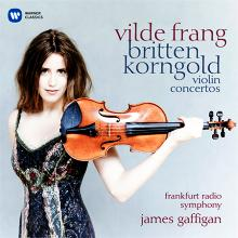 CD Vilde Frang joue les concertos de Britten et Korngold