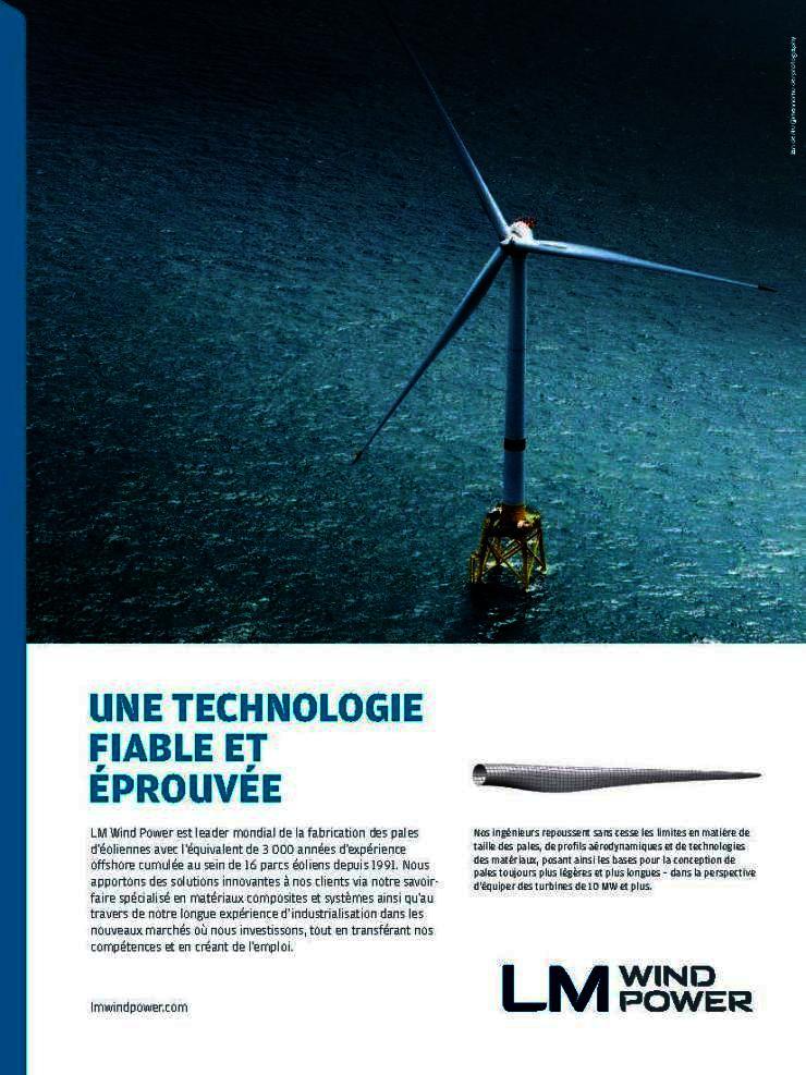 Publicité pour LM Wind Power