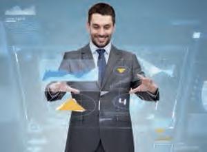 Un directeur financier heureux