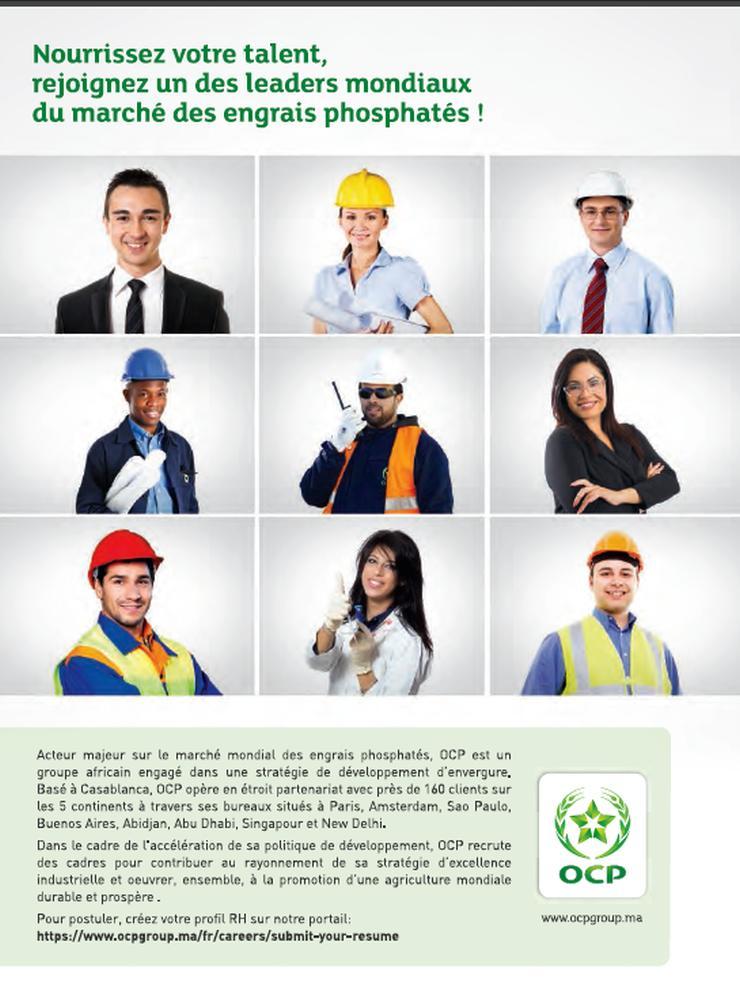 Page de publicité OCP-Group