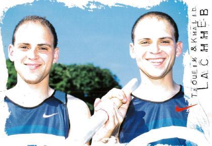 Les jumeaux Lachheb (95) en perchistes