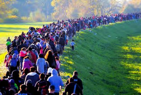 Migrants en marche