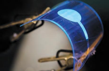 Diode électroluminescente flexible