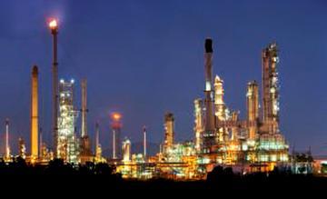 Usine pétro-chimique