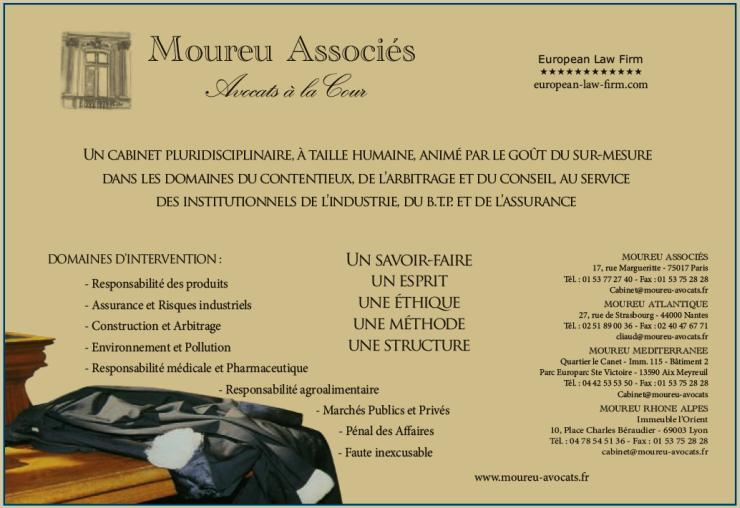 Carte de visite de MOUREU Associés