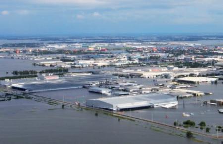 Pendant une innondation