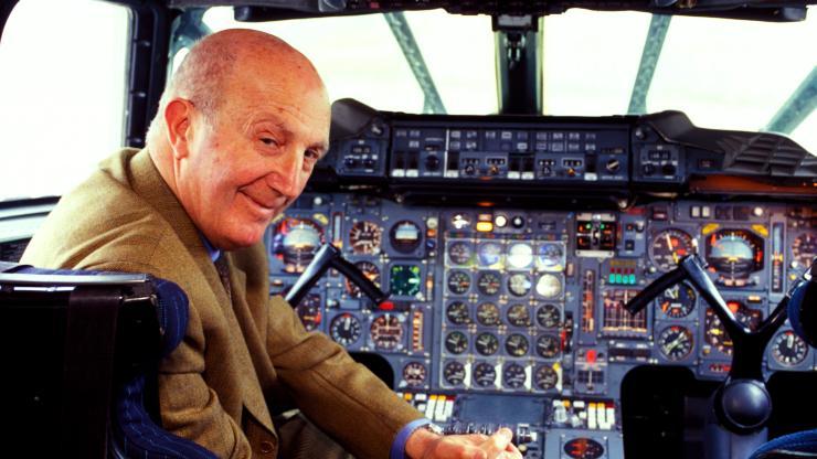 André TURCAT (40) sur Concorde