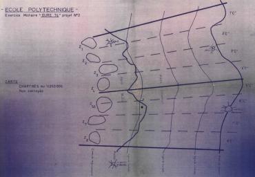 "Manoeuvres "" Loiret 73 "" Le plan"