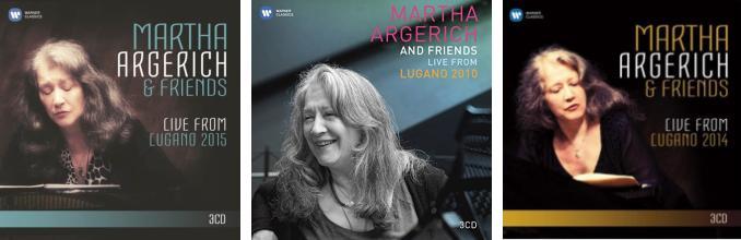 CD Martha Argerich & friends en live à Lugano