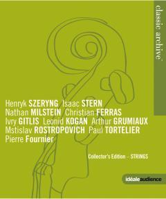 Blu-Ray Grands violonistes et violoncellistes du XXe siècle Classic Archive