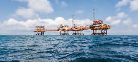Puits de pétrole en Angola