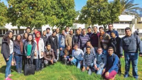 La classe de MP* du lycée Moulay-Idriss de Fès, au Maroc