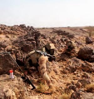 Soldat français du génie au Mali