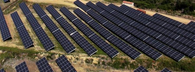 Centrale solaire de Montmayon (2,8 MW) – France.