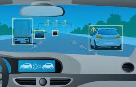 Perception de l'environnement en conduite autonome